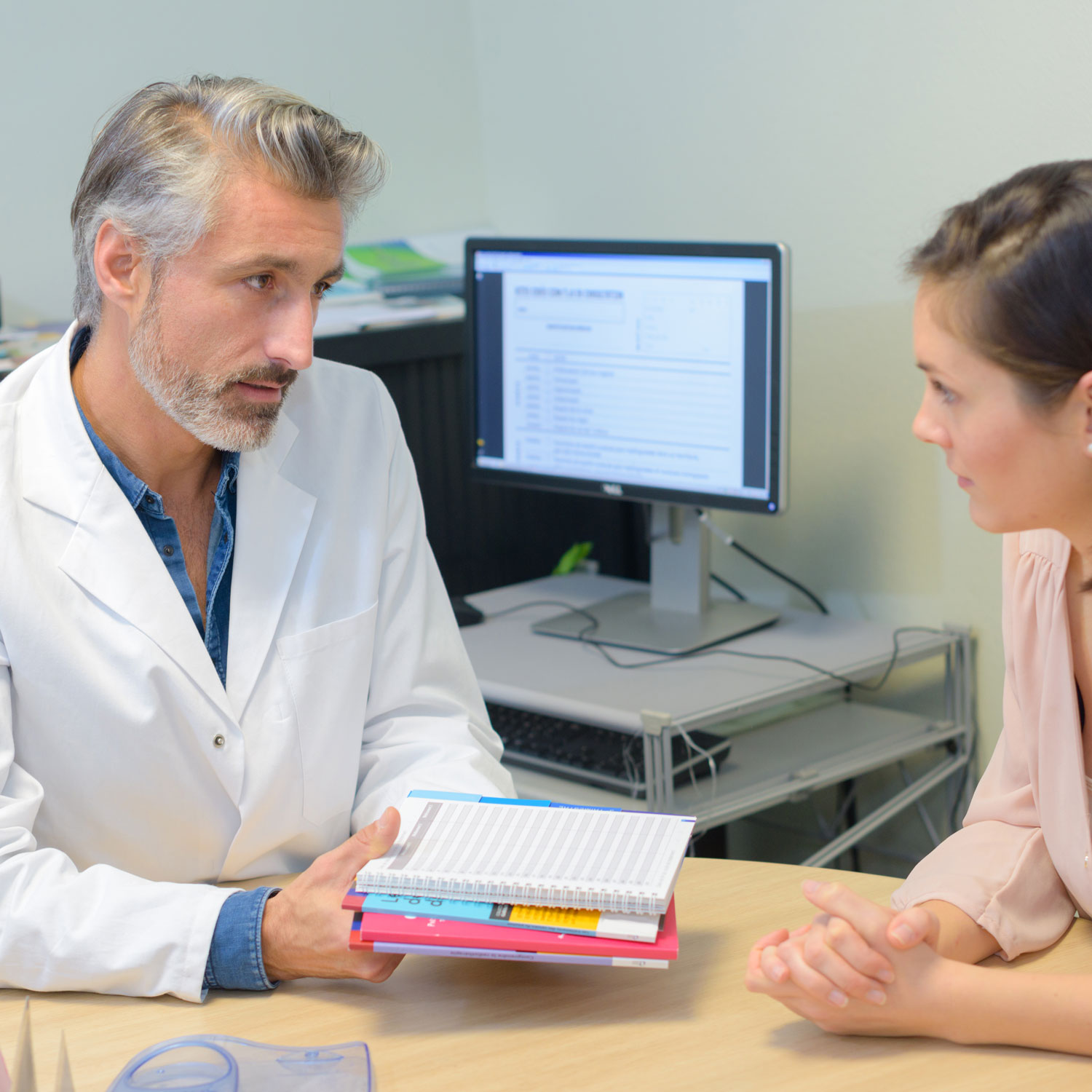 Doctor discussed Gene Mutations with patient | Arizona Reproductive Medicine Specialists