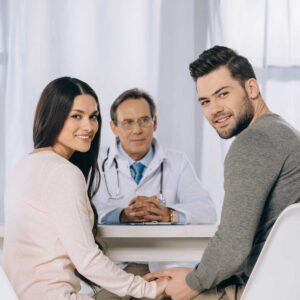 Coupe discusses starting IUI fertility treatment with doctor   Arizona Reproductive Medicine Specialists