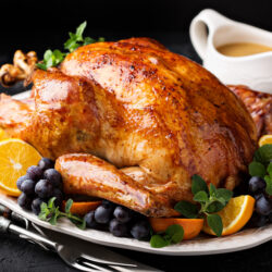 A delicious looking Happy Thanksgiving turkey | Arizona Reproductive Medicine Specialists | Phoenix