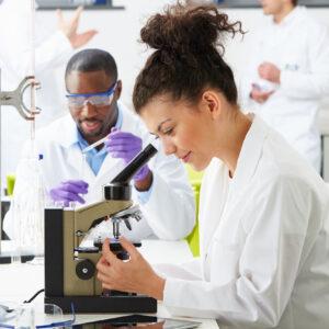 lab technicians work toward egg freezing award | ARMS Fertility | AZ